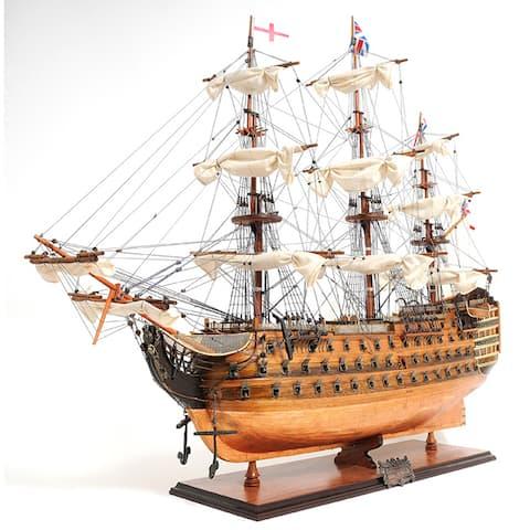 Old Modern Handicrafts HMS Victory Copper Bottom Model