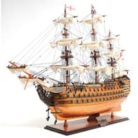 Old Modern Handicrafts HMS Victory Copper Bottom Model