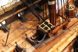 Old Modern Handicrafts USS Constitution Copper-Bottom Model - Thumbnail 2