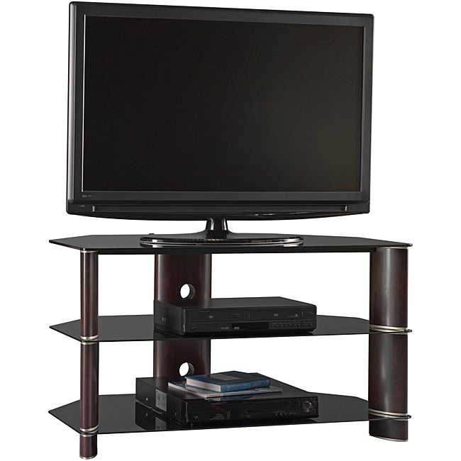 Shop Bush Furniture Segments 42 Inch Corner Tv Stand Free Shipping