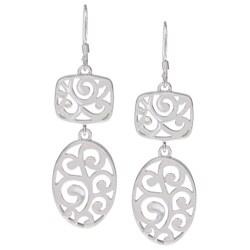 La Preciosa Sterling Silver Filigree Earrings