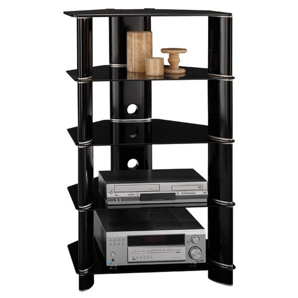 Attractive Bush Furniture Segments Collection Audio Tower