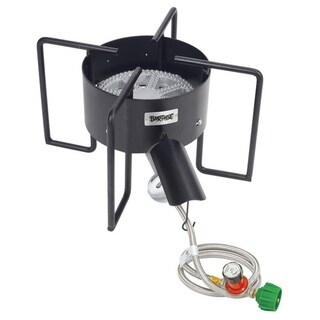 Link to Bayou Classic® 22-in Bayou Banjo Cooker Similar Items in Grills & Outdoor Cooking