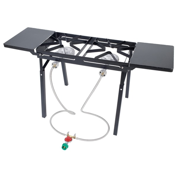Bayou Clic Dual Burner Outdoor Patio Stove