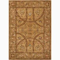 Artist's Loom Hand-tufted Traditional Oriental Wool Rug (9'x13') - 9' x 13'