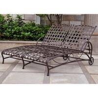 International Caravan Santa Fe Double Multi-position Patio Chaise