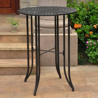 International Caravan Mandalay Outdoor Iron Bar-height Table|https://ak1.ostkcdn.com/images/products/6167609/P13823028.jpg?impolicy=medium