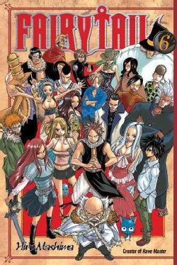 Fairy Tail 6 (Paperback)
