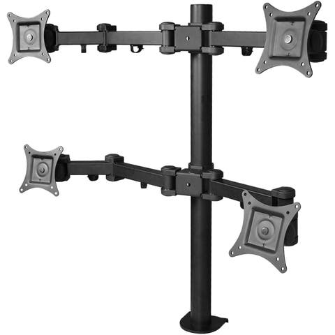 SIIG CE-MT0S12-S1 Desk Mount for Flat Panel Display - Black