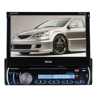 Boss Audio BV9986BI Single-DIN 7 inch Motorized Touchscreen DVD Playe