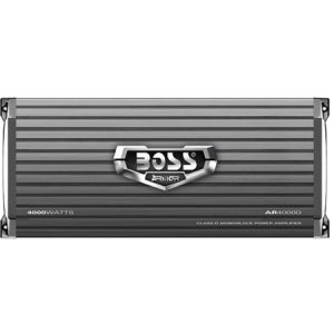 BOSS AUDIO AR4000D Armor 4000-Watt Monoblock, Class D 1 to 8 Ohm Stab