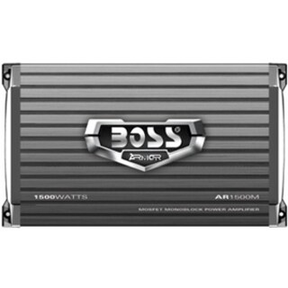 BOSS AUDIO AR1500M Armor 1500-Watt Monoblock, Class A/B 2 to 8 Ohm St