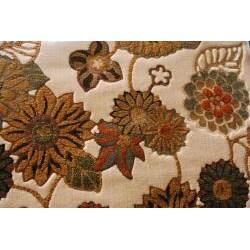 Albus Ivory/ Multi Floral Rug (3'9 x 5'6)