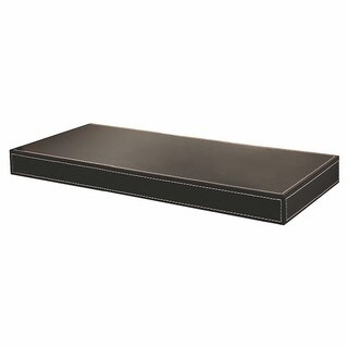 Azure 10 inch x 24 inch Leather Shelf
