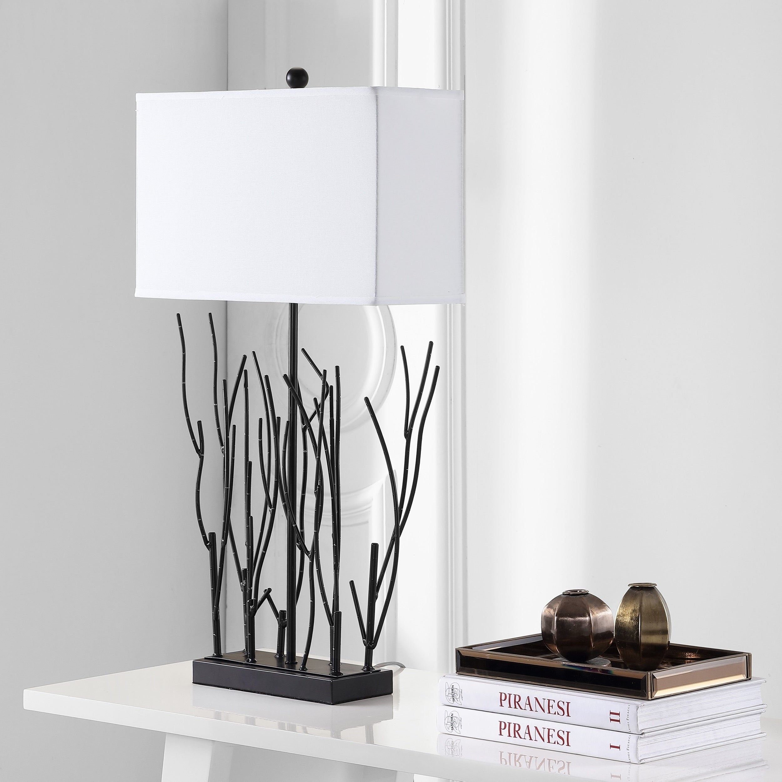 Shop Safavieh Lighting 31 Inch Natural Iron Branch Table Lamp On