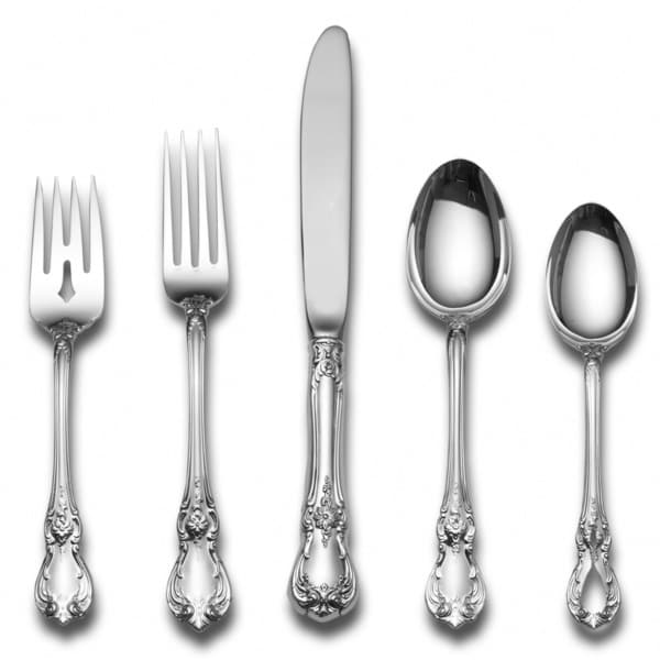 Shop Towle Old Master Sterlying Silver 5 Pc Flatware Set