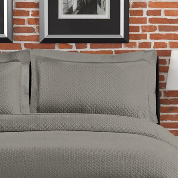 Diamante Matelasse Boudoir Pillow
