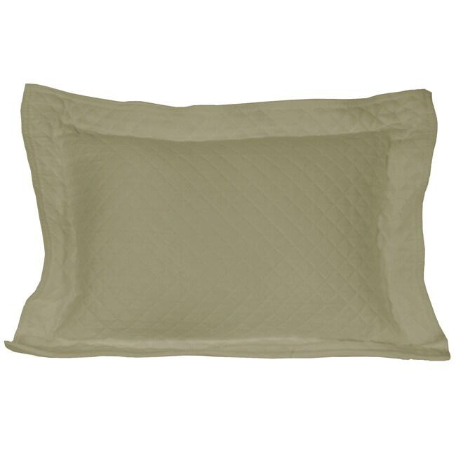Diamante Sage Pillow