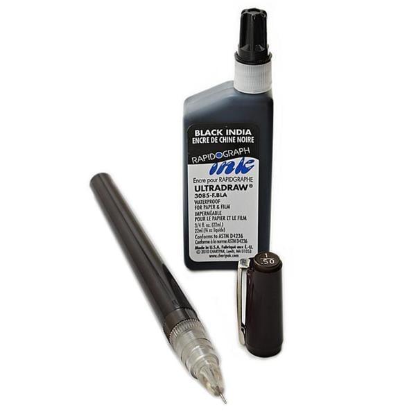 Koh-i-noor 0.50-millimeter Rapidosketch Technical Pen Set