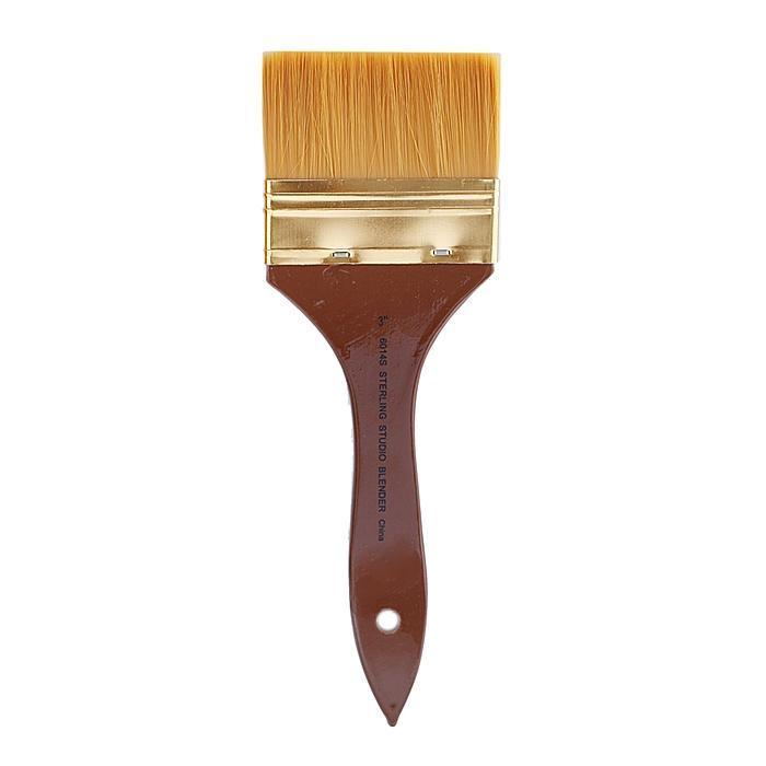 Silver Brush 3-inch Sterling 6014S Blend Wash Brush (Wood)