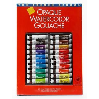Sennelier The French School Gouache (Set of 20)