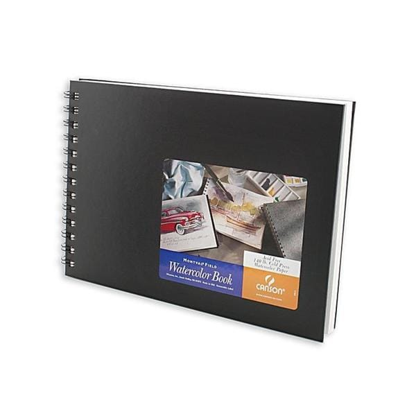 Canson 10-inch x 17-inch Montval Watercolor Paper Book