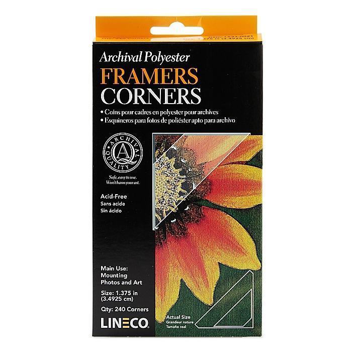 Lineco Archival Infinity Mylar Framers Corners (Pack of 2...