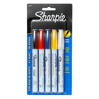 Sharpie Fine Oil-Based Paint Markers (Set of 5)