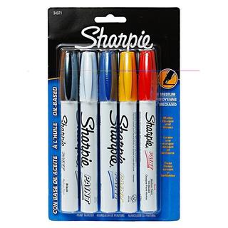 Sharpie Medium Oil-Based Paint Markers (Set of 5)