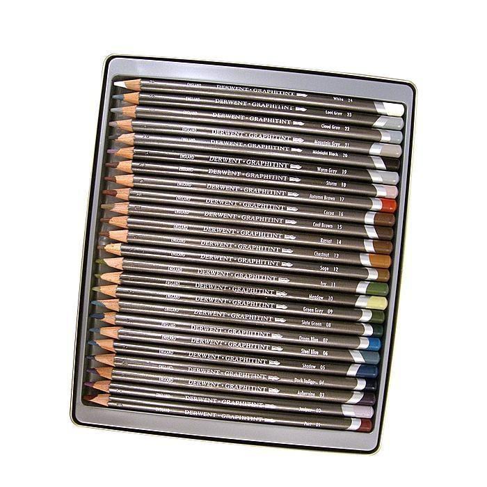 Derwent Graphitint Pencils (Set of 24), Multi