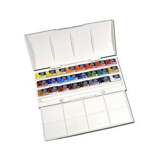 Winsor & Newton Whole Pan Cotman Watercolor Studio Set|https://ak1.ostkcdn.com/images/products/6169230/P13824501.jpg?impolicy=medium