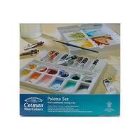Winsor & Newton Cotman Watercolor Palette Set