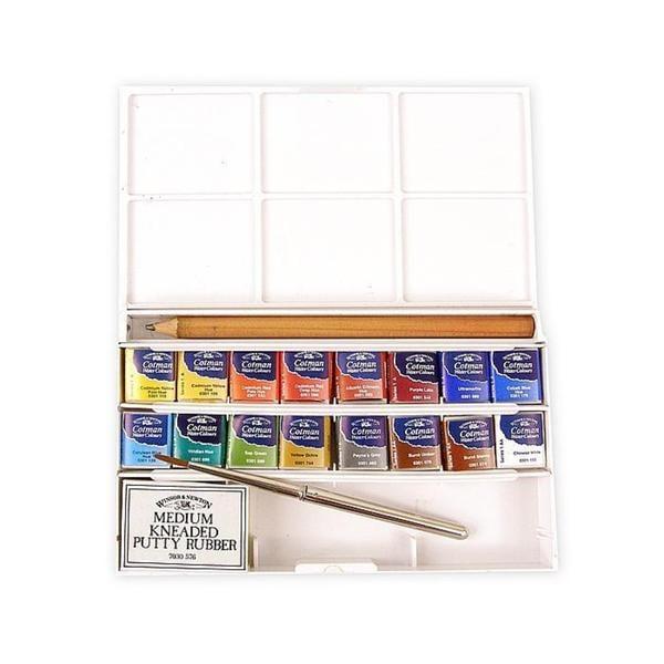 shop winsor newton deluxe sketchers pocket box cotman watercolor