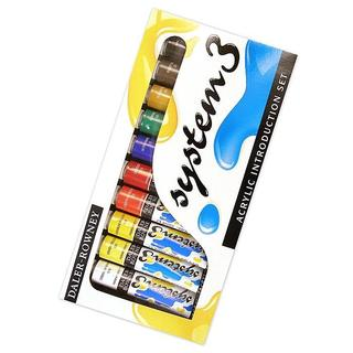 Daler-Rowney Introduction System 3 Acrylic Paint Set