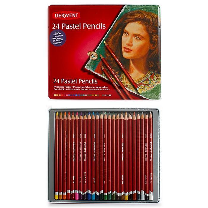 Derwent Pastel Pencils (Set of 24), Multi