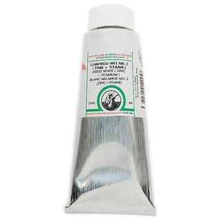 Old Holland 125-Milliliter Mixed White Neutral Zinc/Titanium A5 Classic Oil Color