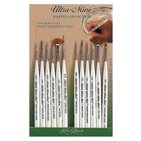 Silver Brush Ultra Mini Detail Painting Brushes (Set of 12)