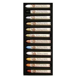 Sennelier Iridescent Colors Oil Pastels (Set of 12)