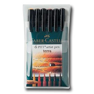 Faber-Castell Terra Pitt Artist Brush Pen Set
