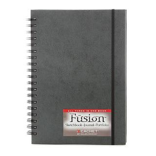 Cachet 7-inch x 10-inch Fusion Sketch Journal Folio