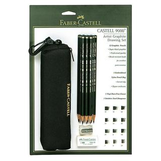 Faber-Castell Artist Graphite 9000 Drawing Set