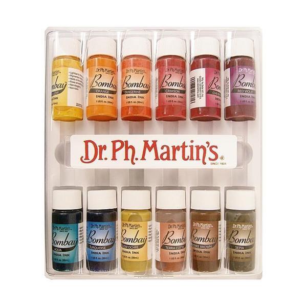 Dr. P.H. Martin's Number 2 Bombay India Ink Set