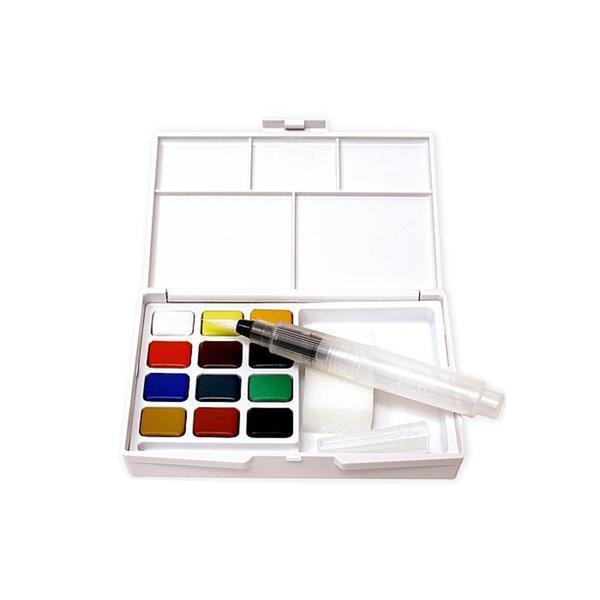 shop sakura pocket field sketch box koi watercolor set