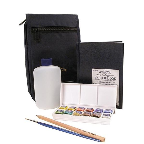 Winsor & Newton Limited Edition Cotman Watercolor Sketcher's Case