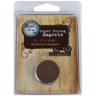 Vintage Collection Super Strong Magnets (Pack of 3)