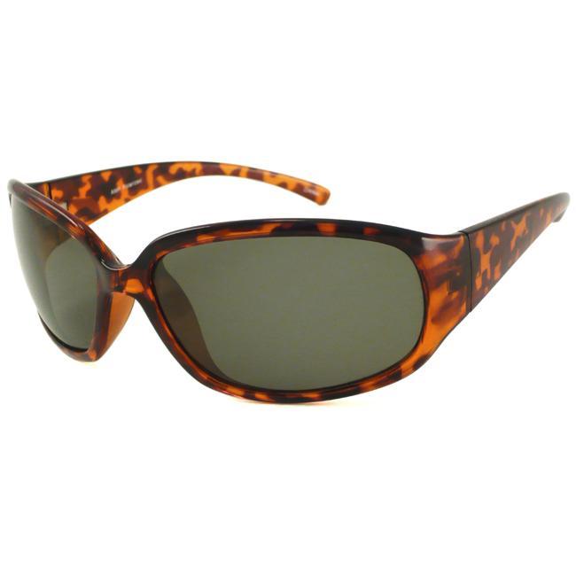 Alta Vision Men's Polarized Mainsail Wrap Plastic Sunglasses