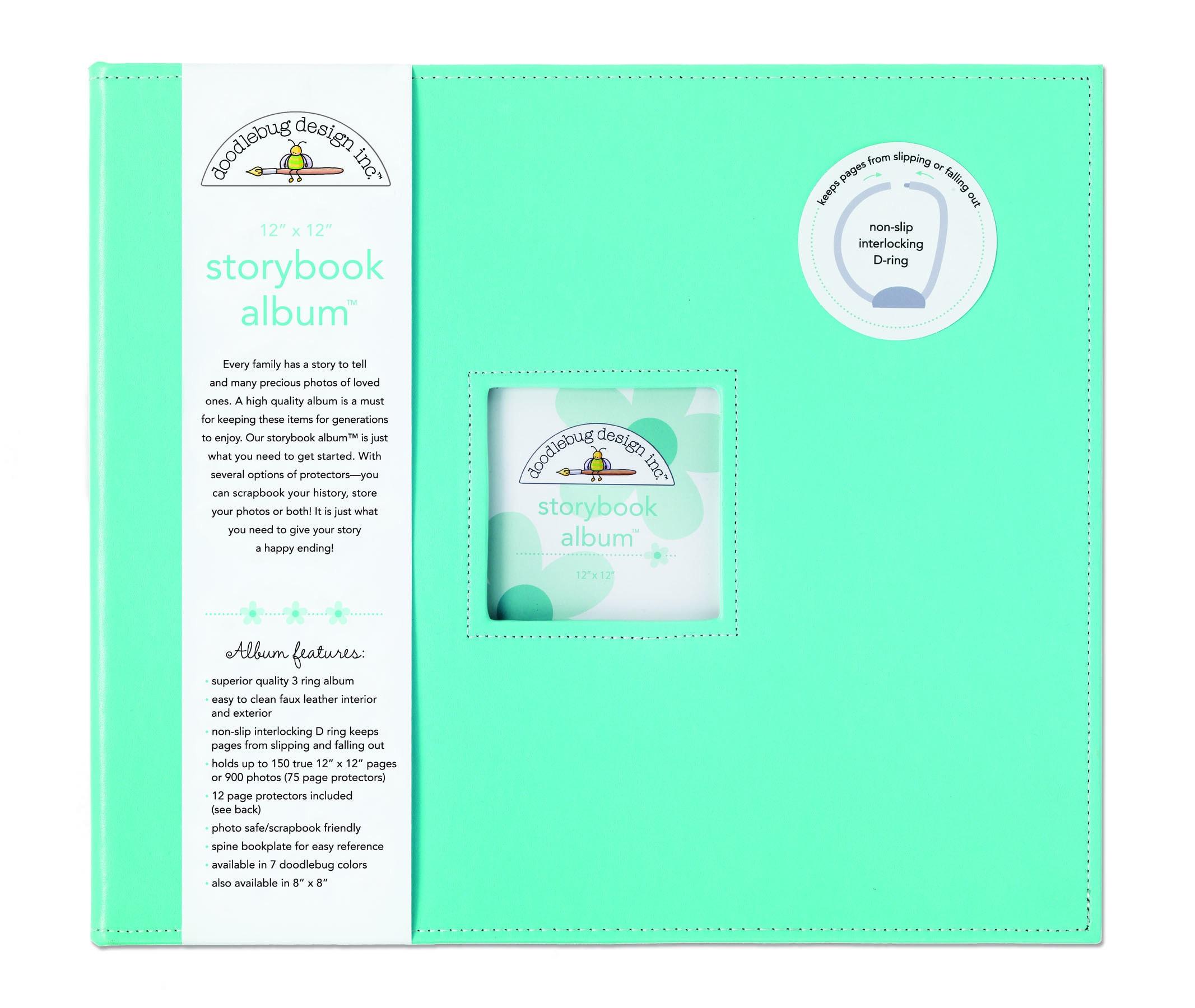 Doodlebug Bubblegum Fabric Storybook Album 12 x 12 dd9aa71b 67e2 448d 9643 5794eedf39a0