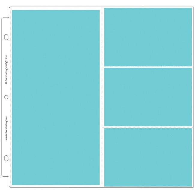 """Doodlebug Combo Page Protectors (Pack of 25) (4""""X6"""" And 6..."""