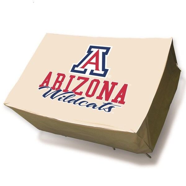 NCAA University of Arizona Wildcats Rectangle Patio Set Table Cover