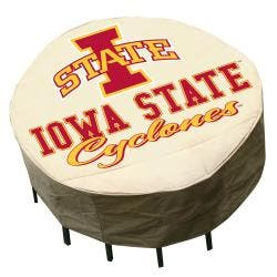NCAA Iowa State Cyclones Round Patio Set Table Cover https://ak1.ostkcdn.com/images/products/6172280/77/380/NCAA-Iowa-State-Cyclones-Round-Patio-Set-Table-Cover-P13826837.jpg?impolicy=medium